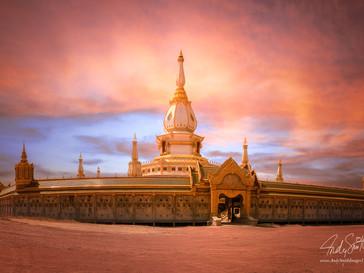 Phra Maha Chedi Chai Mongkol, Roi Et, North Eastern Thailand