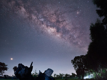 Milky Way over Roi Et, North Eastern Thailand