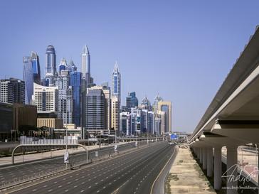 Sheik Zayed Road, Dubai Marina