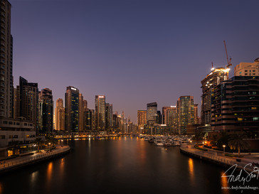 Dubai Marina early Evening