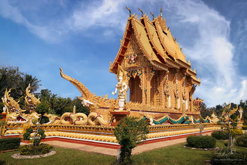 Wat kae Dam, Roi Et City, North Eastern Thailand