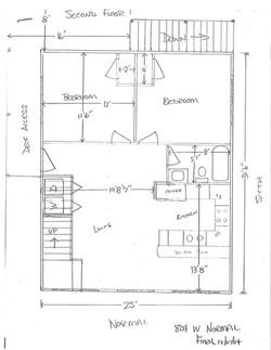 804 W. Normal Floor Plan
