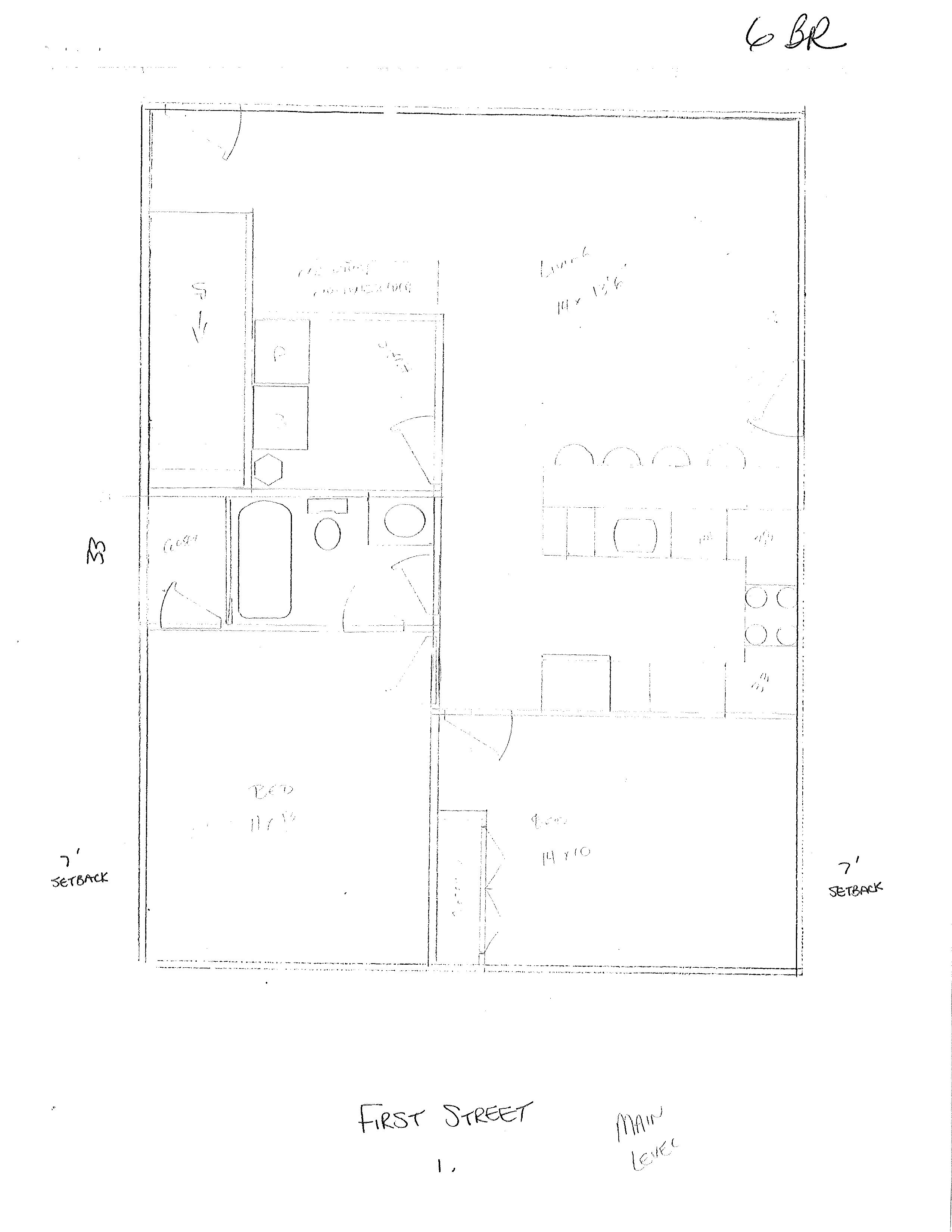 520 S. First St. Floor Plan