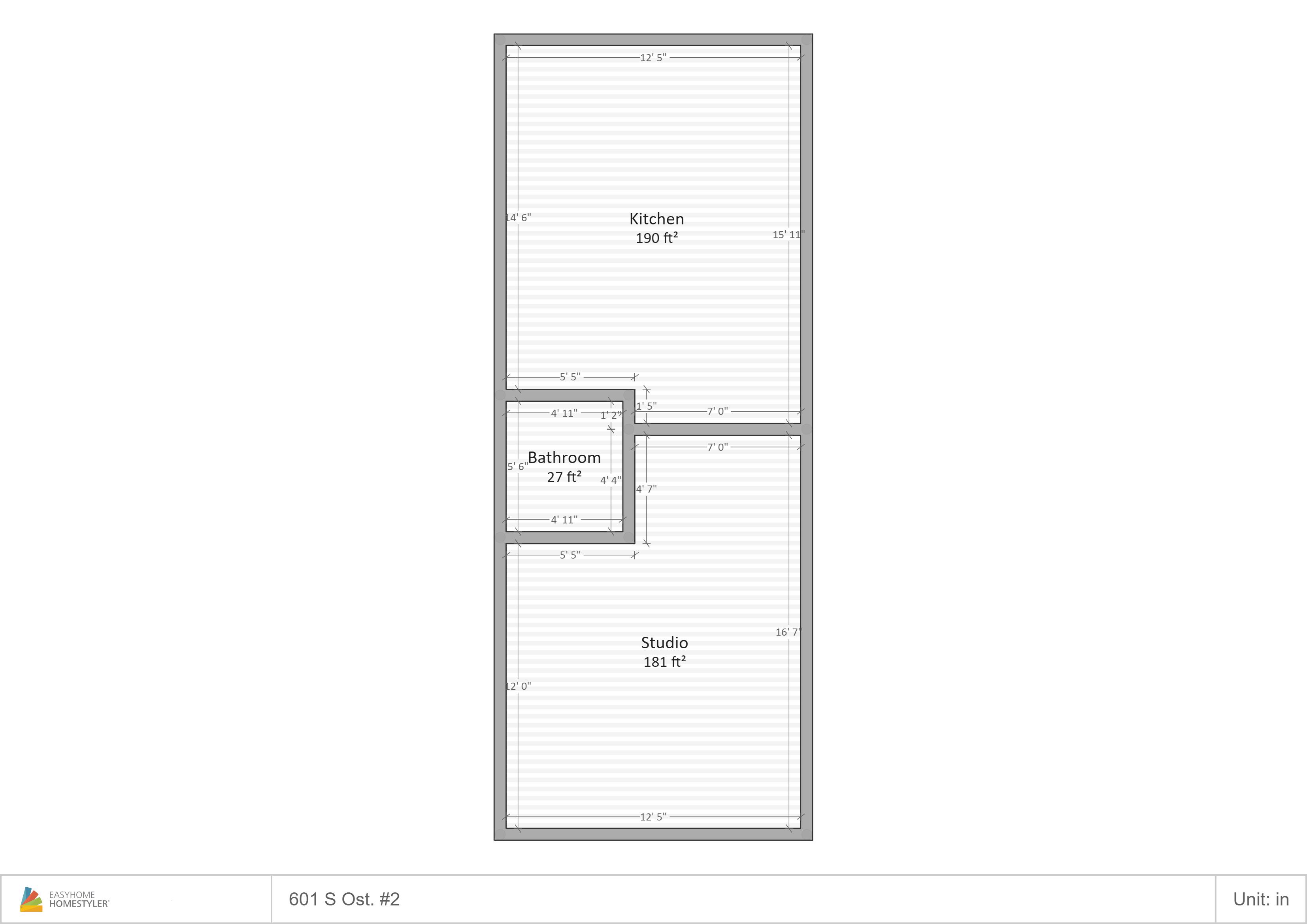 601 Ost-2 Floor Plan