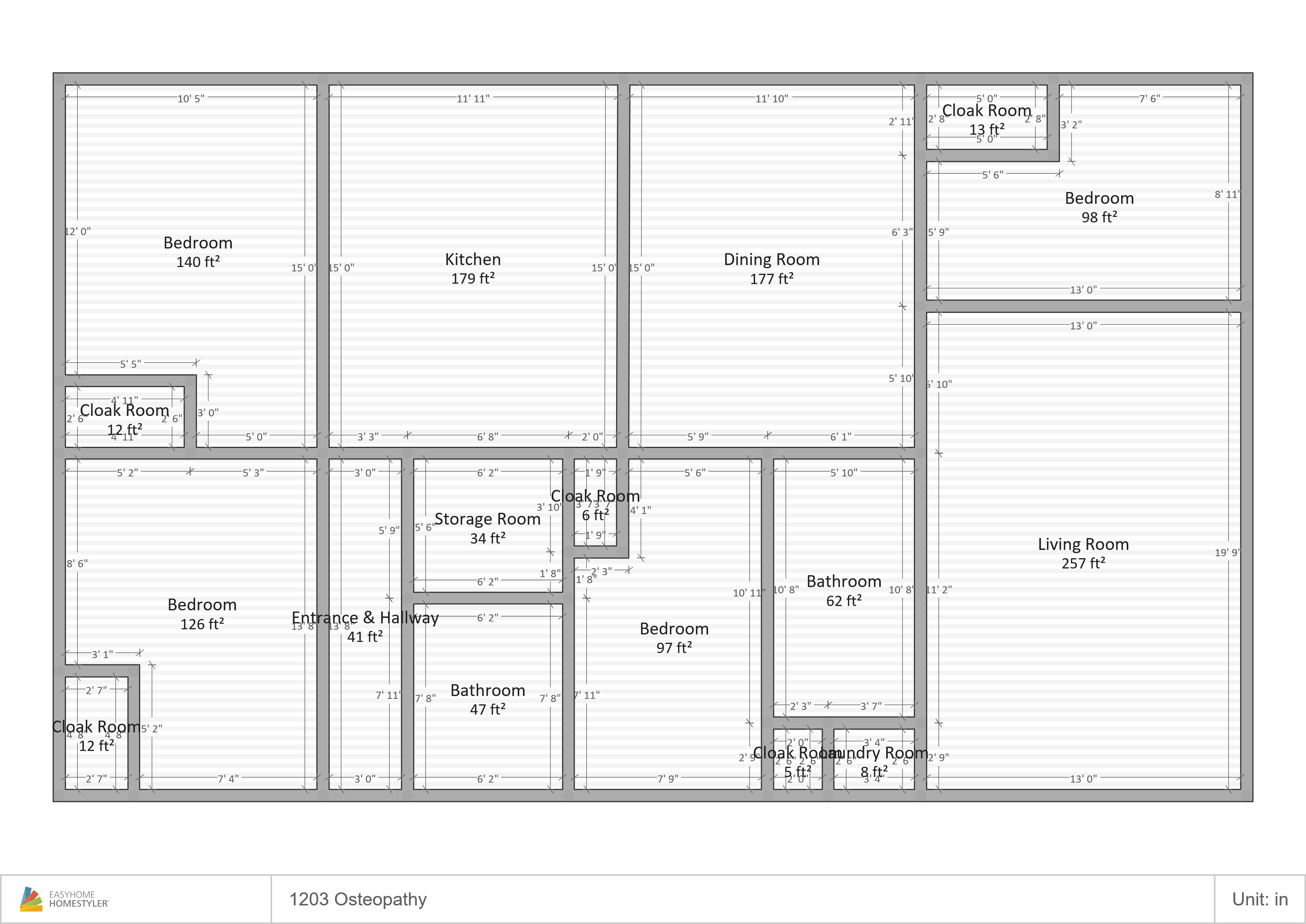 1203 Ost Floor Plan