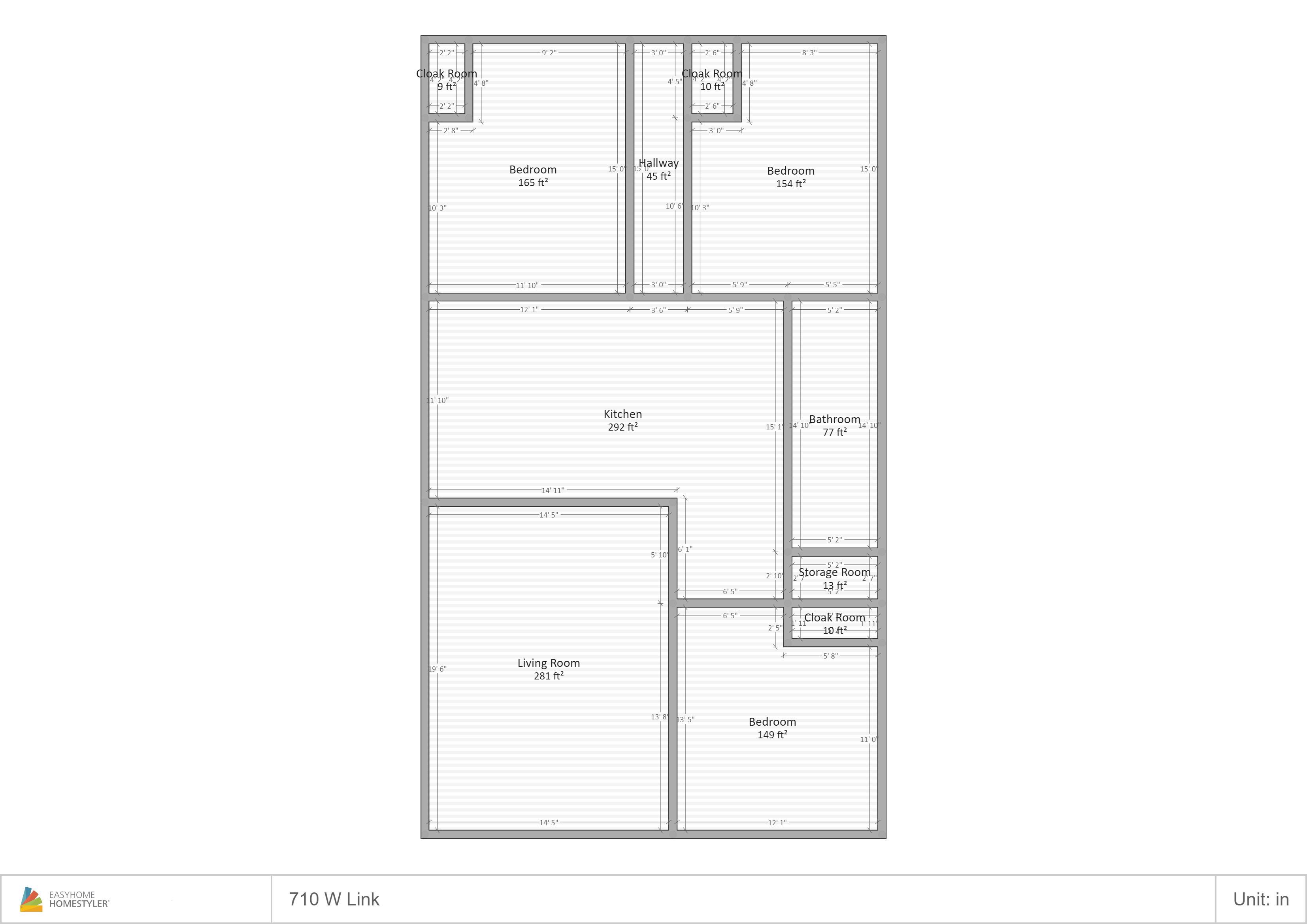 710 Link Floor Plan