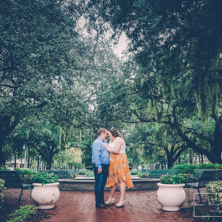 Deanna & Chris's Engagement Session | Celebration, Florida