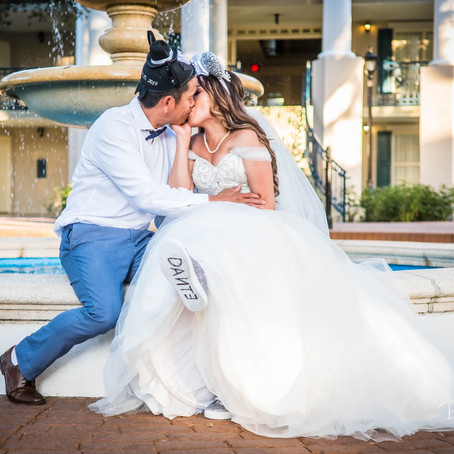 Carina & Dante | Disney Dream Wedding