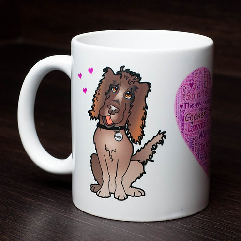 Mug - Curtis and Candi - Pink with personlisation