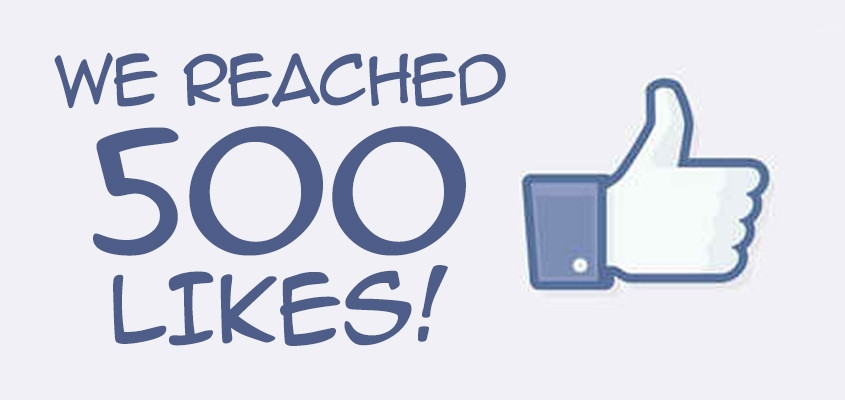 500 facebook likes