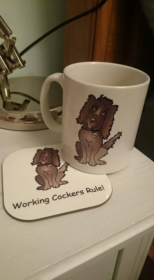 Curtis - Working Cocker Spaniel Mug