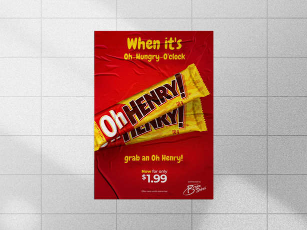 Oh Henry Poster
