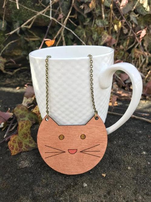 Pendant Necklace - Cat