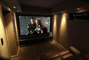Garage Cinema Conversion
