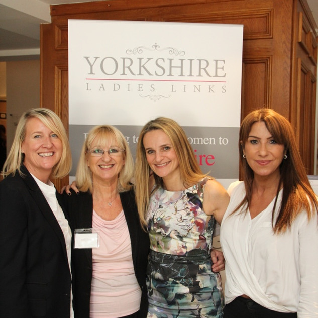 Yorkshire Ladies Links Events Team