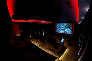 Tiered Basement Cinema