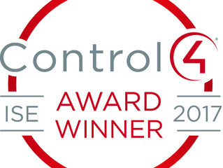 Control4 awards UK Bespoke Home Cinemas at leading industry trade show