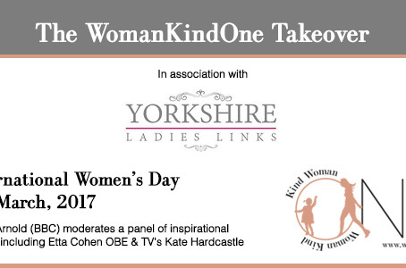 NEW feature to our Be Inspired Conference - The WomanKindOne Takeover