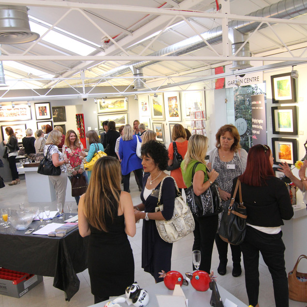 Networking at Smart Gallery 2014