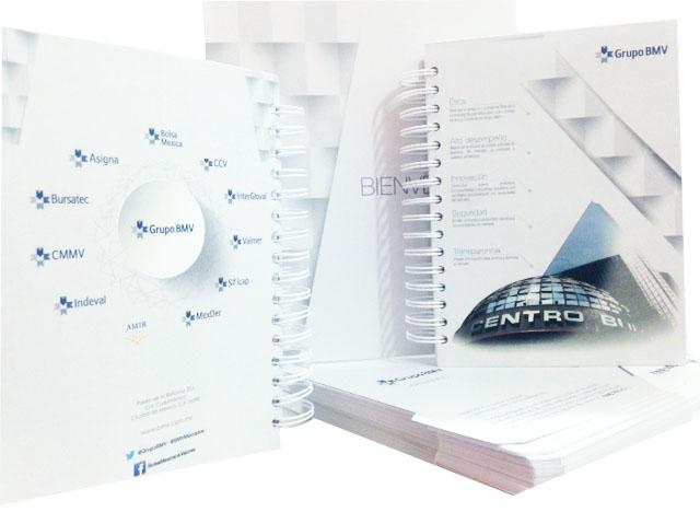Libretas y folders personalizadas