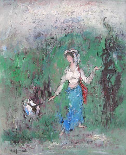 Shepherdess 牧羊女