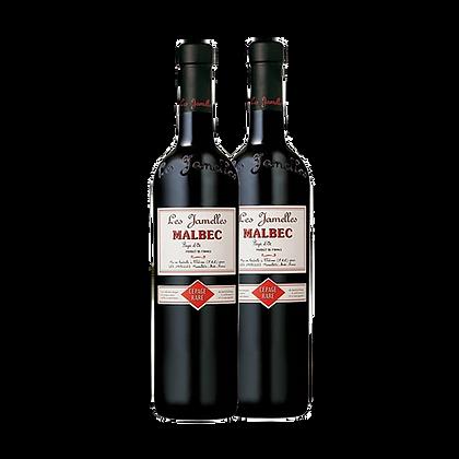 שני בקבוקים של לה ז'אמל - מלבק