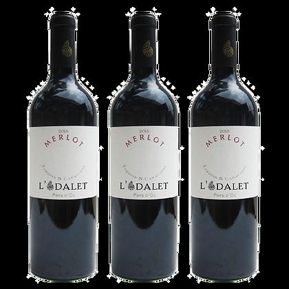 3 בקבוקים של לודאלט -  מרלו