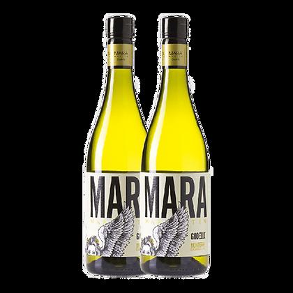 שני בקבוקים של מרטין קודאס מארה