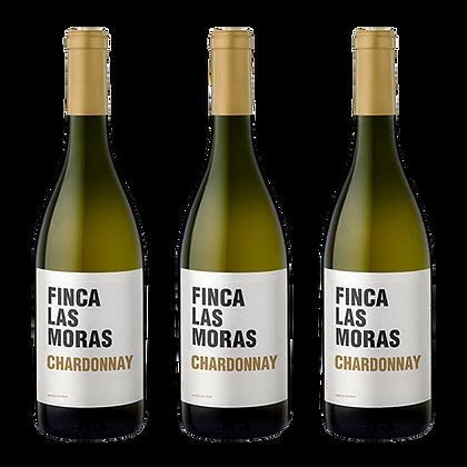 3 בקבוקים של פינקה לאס מוראס – שרדונה
