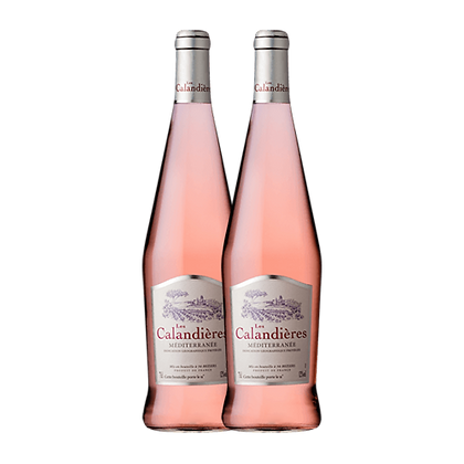 שני בקבוקים של רוזה - לה קלנדיירס