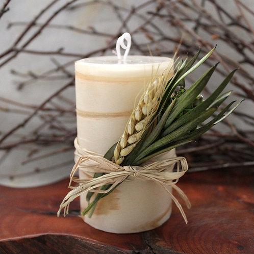 和Aroma candle