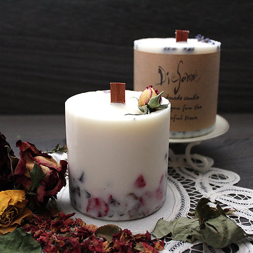 Soy Botanical candle