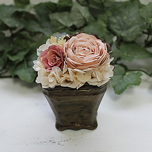 Receptacle Flower candle