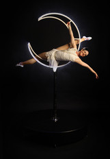 Moona Gatsby - Freestanding LED Aerial Moon