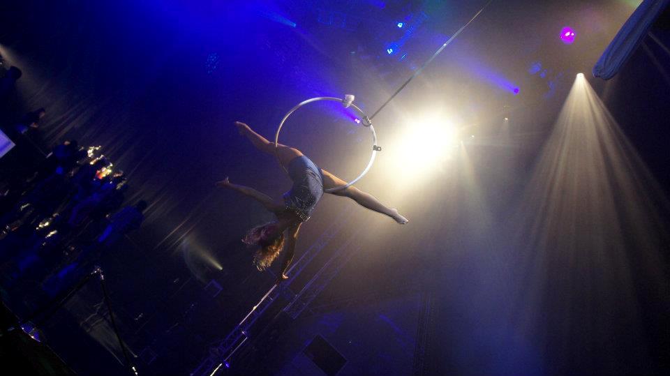 Aerial Hoop - blue