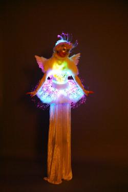 LED Angel Ballerina Stiltwalker