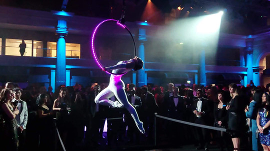 Luminaire LED Aerial Hoop