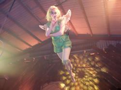 Tinker Bell Flying