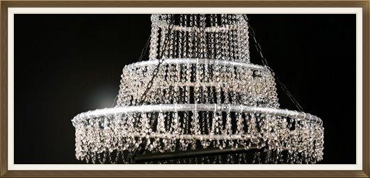 Champagne Glitterati Chandelier