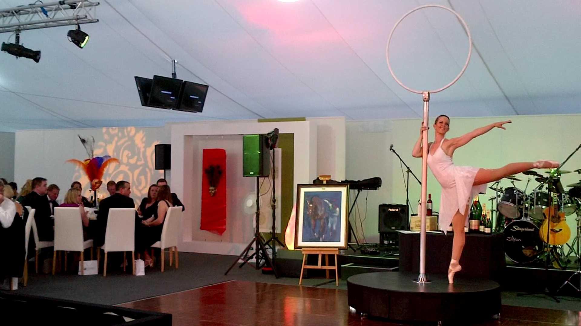 Classical Freestanding Aerial Hoop