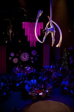 Aerial Silks - Christmas Event