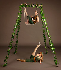 Champagne Gardens Duo with Trapeze