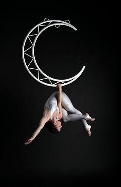 Aerial moon lyra