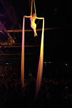 Aerial Silks - Wella Launch Madrid