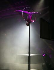 La Luna Lux - LED Freestanding Lollipop Hoop