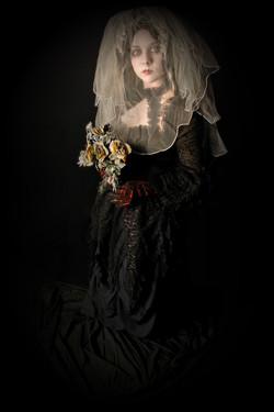 The Dark Bride Human Statue