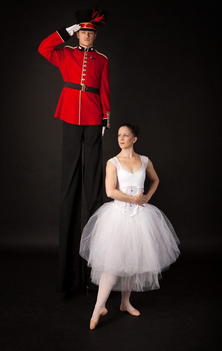 Nutcracker Toy Soldier & Ballerina (6)