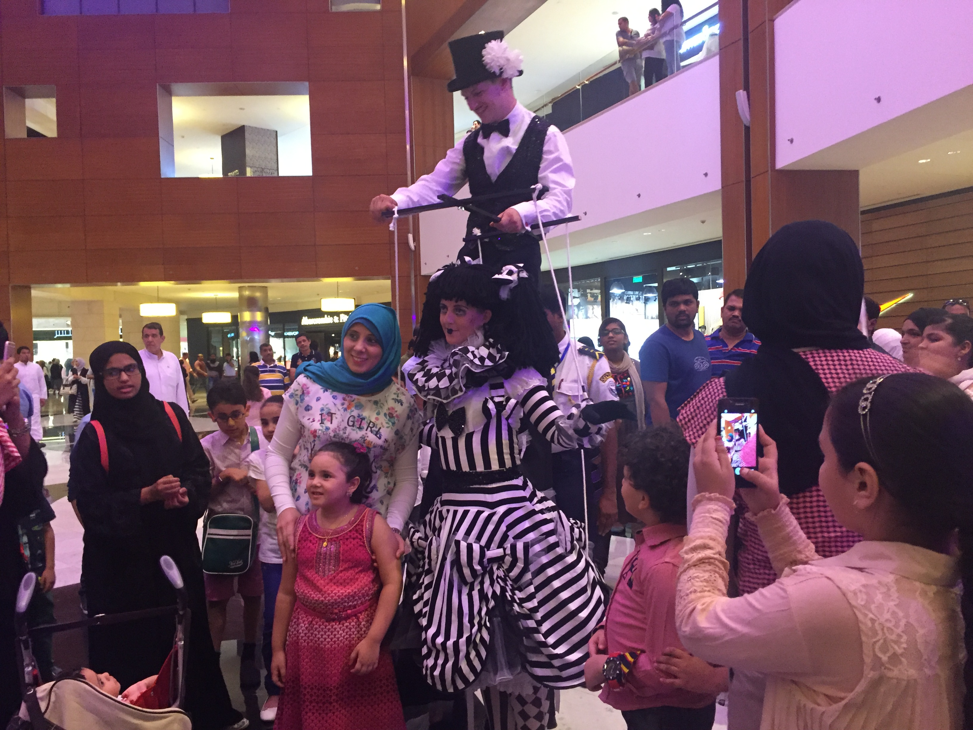 Marionette Puppet Master Stripes