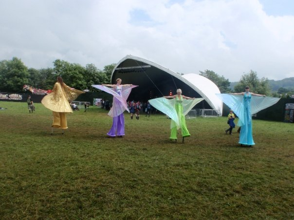 Mariposa Stiltwalkers