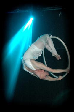 Aerial Hoop - white